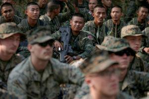 ทหารอเมริกัน เข้ามาซ้อมรบในไทย