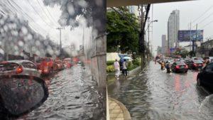 คนกรุงฯอ่วมอีกแล้ว ชีวิตดี๊ดี กรุงเทพฯกลายเป็นทะเล ได้ทุกเวลาที่ฝนตก