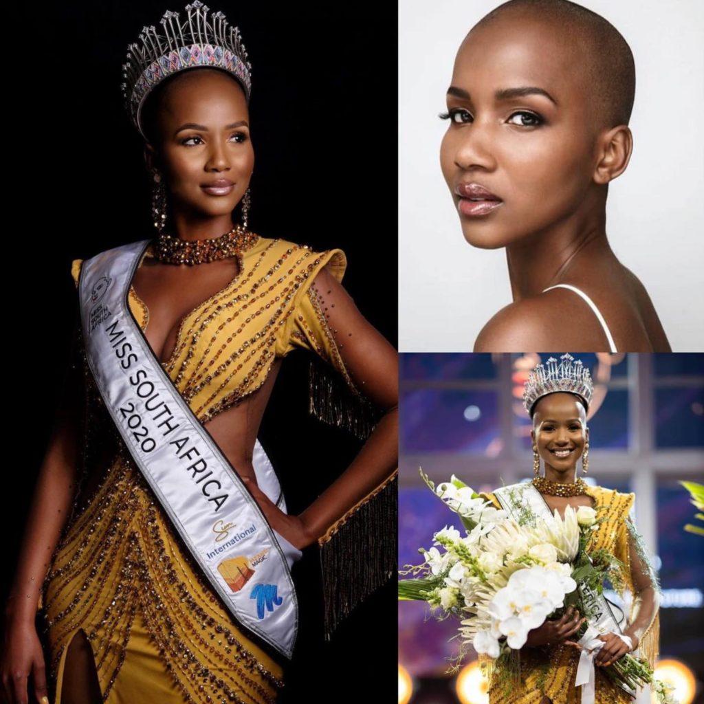 miss south africa 2020 เธอตอบคำถามได้ตรงประเด็นฉลาด