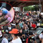 ระทึก!! เกิดเหตุการณ์ ระเบิดฝั่งธนบุรี ในการชุมนุม บริเวณ MRT ท่าพระ