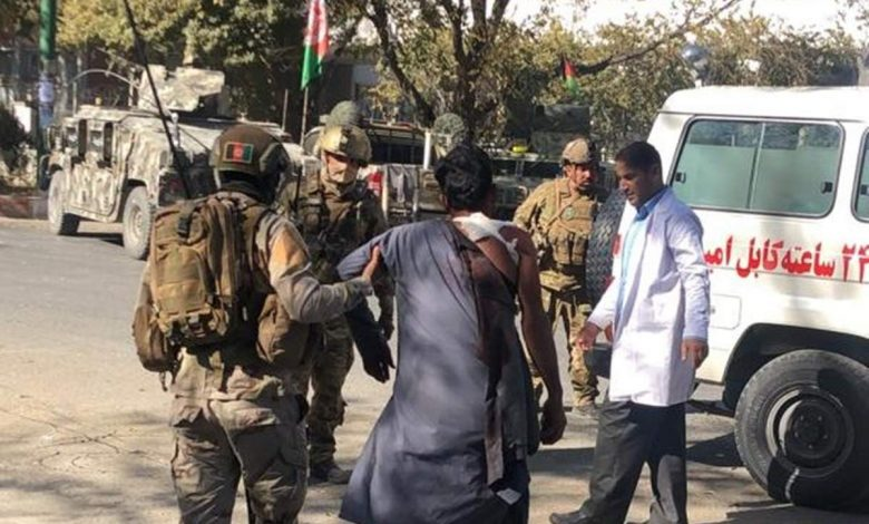 ไอซิส (ISIS)  ที่อ้างว่า เป็นผู้อยู่เบื้องหลังการโจมตี มหาวิทยาลัย กลางกรุงคาบูล