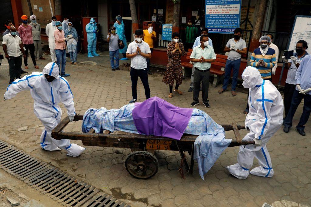 COVID-19 รอบ 2 ที่ประเทศอินเดีย ระบาดอย่างหนัก