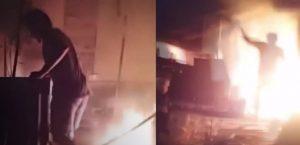 จุดพลุปีใหม่ จนเกิดไพ้ไหม้บ้าน ทำให้เกิด ฮีโร่กลางกองเพลิง