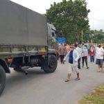 ชาวบ้านโวยทหาร จะนำ ผู้ติดเชื้อCOVID 19 มากักตัว ในบริเวณเเขตชุมชน